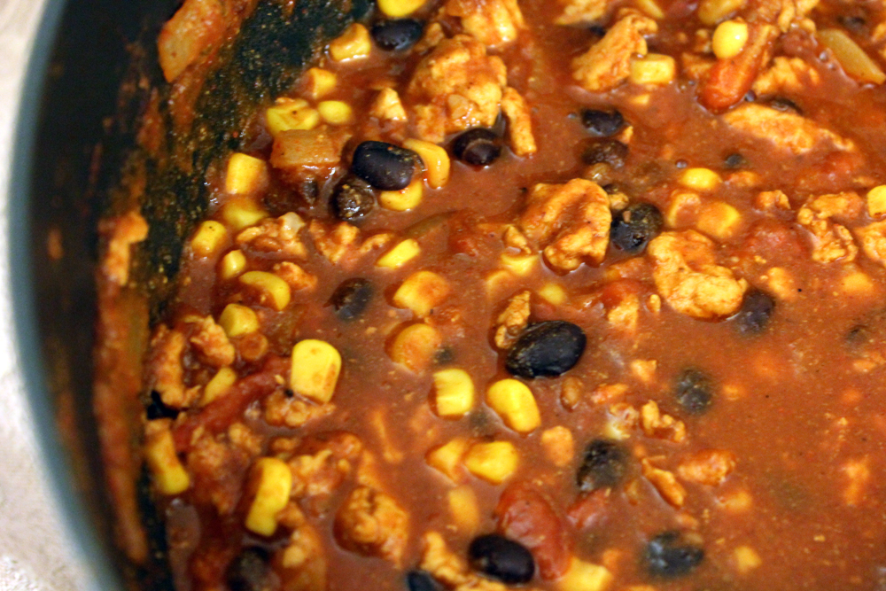 smoky barbecue black bean corn and black beans turkey corn black bean ...