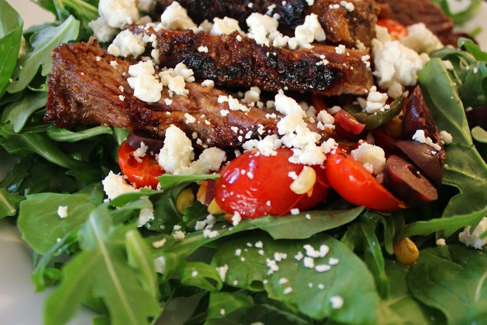 Steak Salad Recipe — Dishmaps