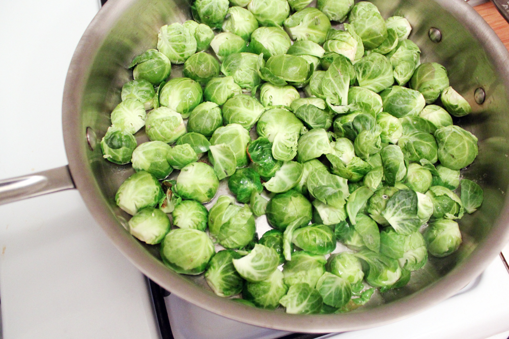 foresee a lot of these Dijon-braised Brussels sprouts in my new year ...