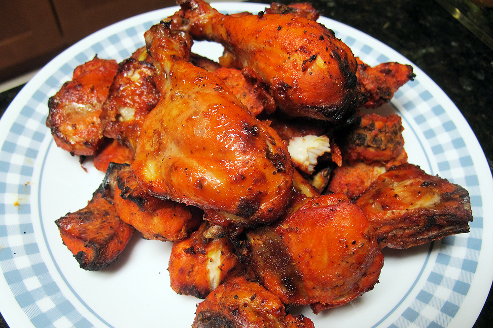 Chicken Tandoori Of my tandoori chicken.