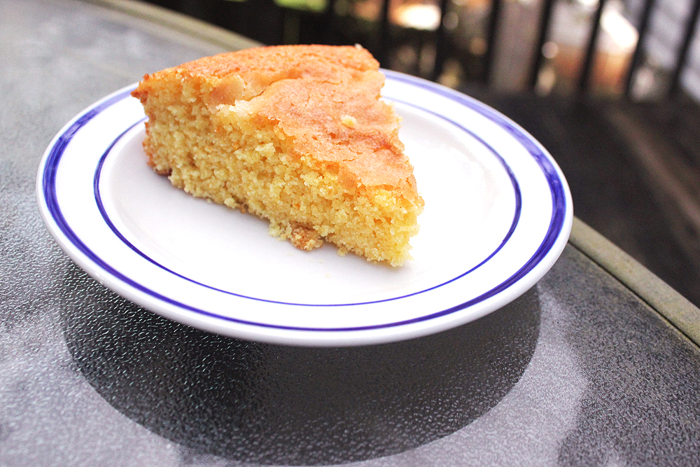 Orange Cornmeal Cake - bites out of life
