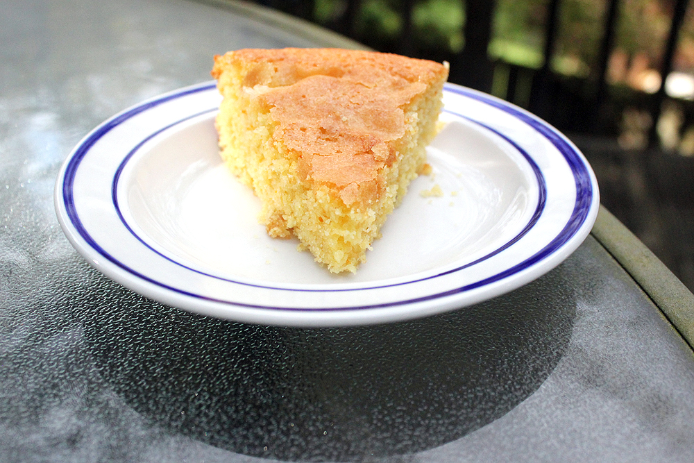 Orange Cornmeal Cake Recipe — Dishmaps