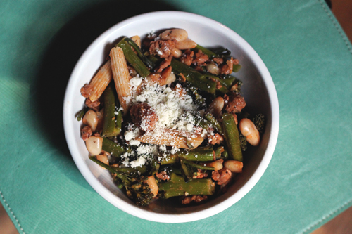 broccoli rabe pasta 3