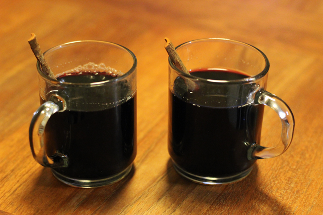 Honey Mulled Wine - bites out of life