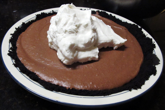 Chocolate Mousse Pie - bites out of life