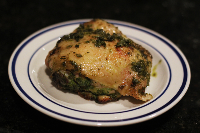 chimichurri roast chicken 6