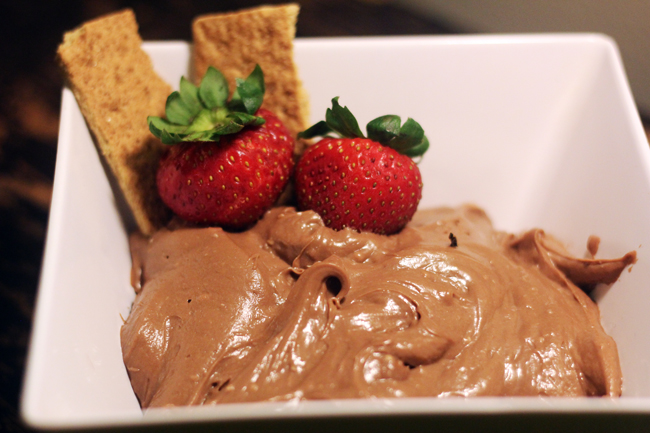 nutella cheesecake dip 4