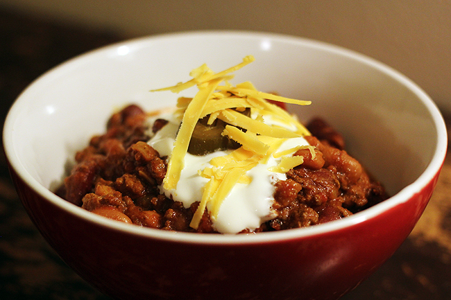 slow cooker chili 6