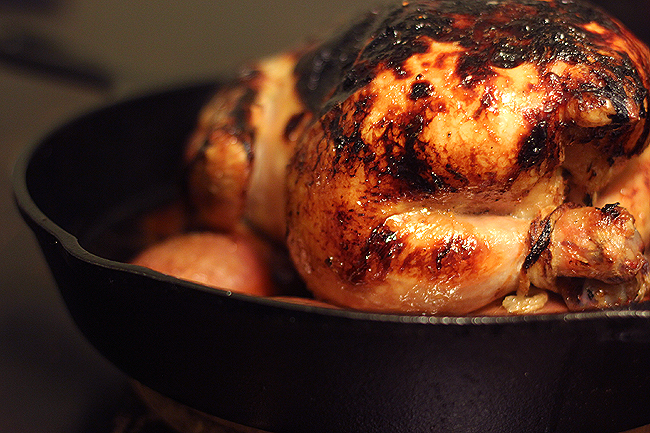 honey-roasted chicken 5
